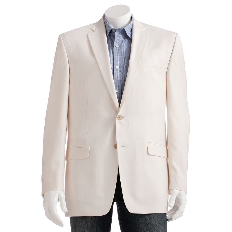 Big & Tall Chaps Classic-Fit Solid Suit Jacket