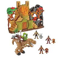 Imaginext DGF71 Dino Fortress Gift Set