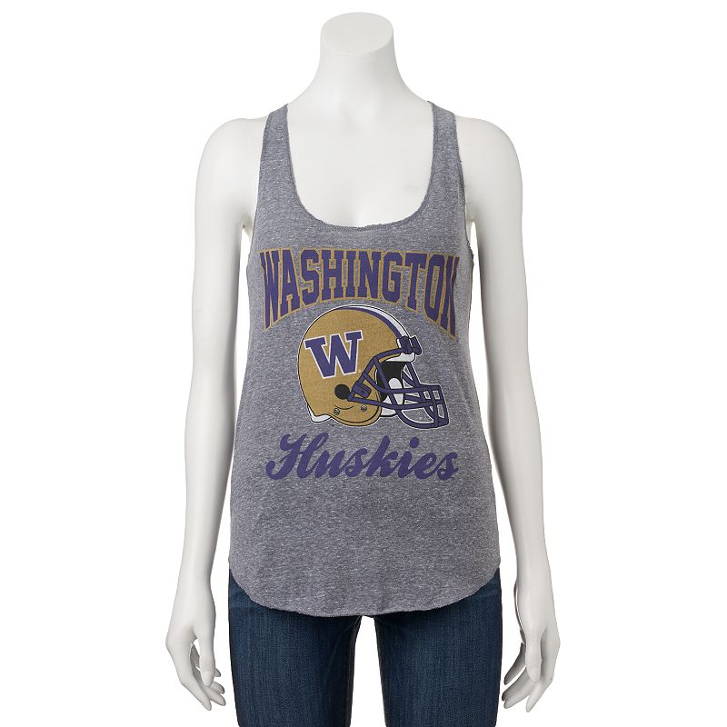 Women's Washington Huskies Knit Racerback Tank Top