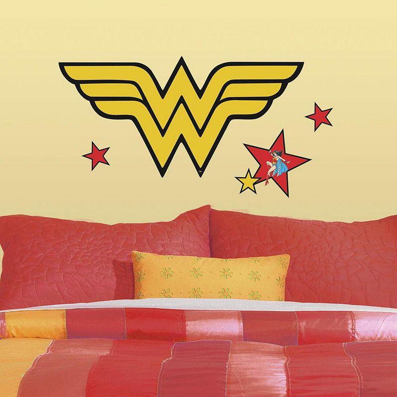 DC Comics Wonder Woman Logo Peel & Stick Giant Wall Decals