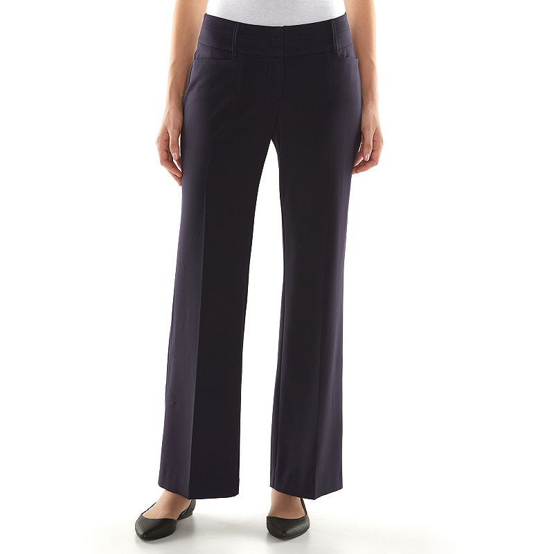 Petite Apt. 9® Shaping Solution Curvy Fit Dress Pants