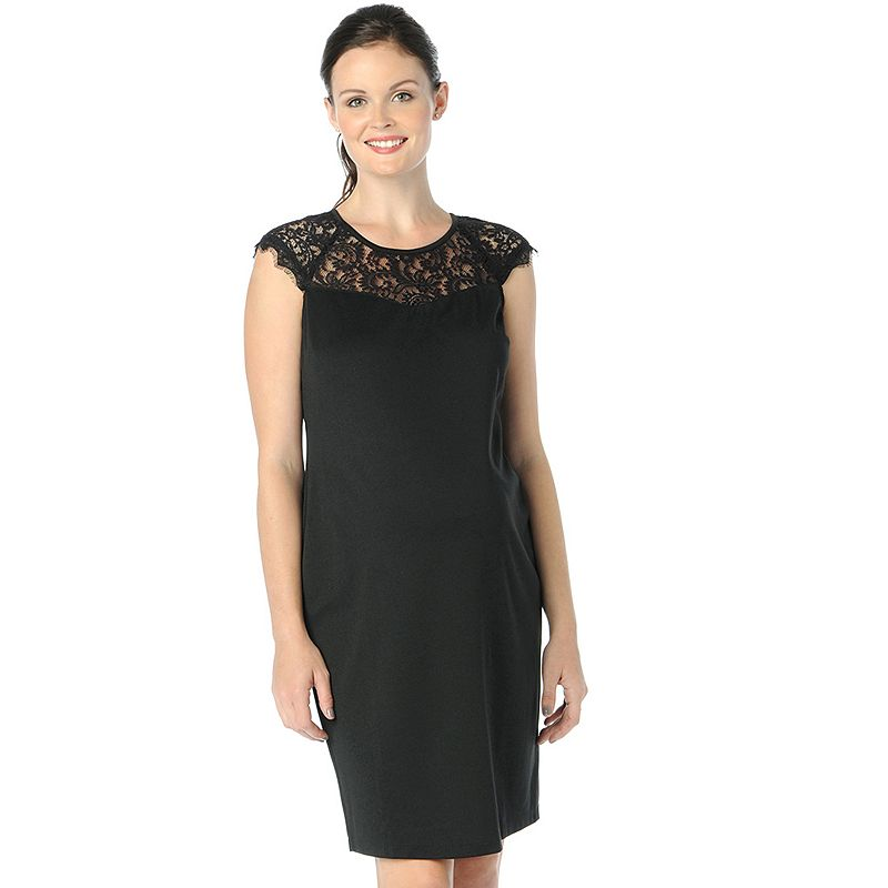 Oh Baby by Motherhood™ Sheath Ponte Dress - Maternity