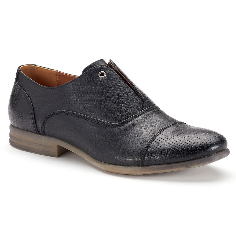 XRay Bleeker Men's Perforated Slip-On Oxford Shoes