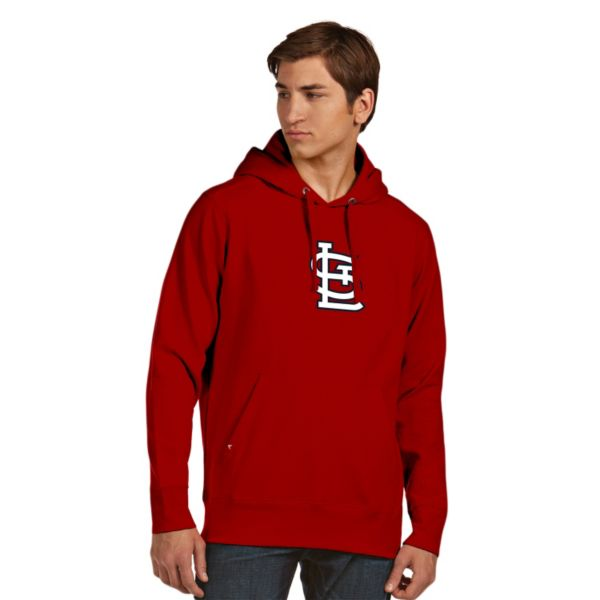 Men's Antigua St. Louis Cardinals Signature Fleece Hoodie