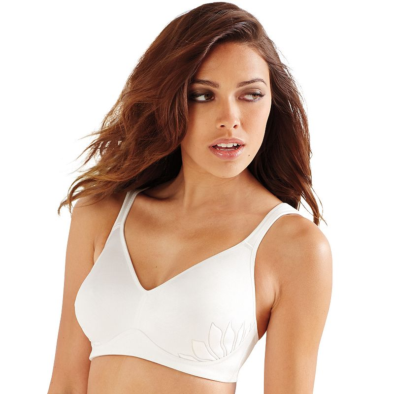 Bali Bra: Live It Up Lined Wire-Free Full-Figure Bra 3T13