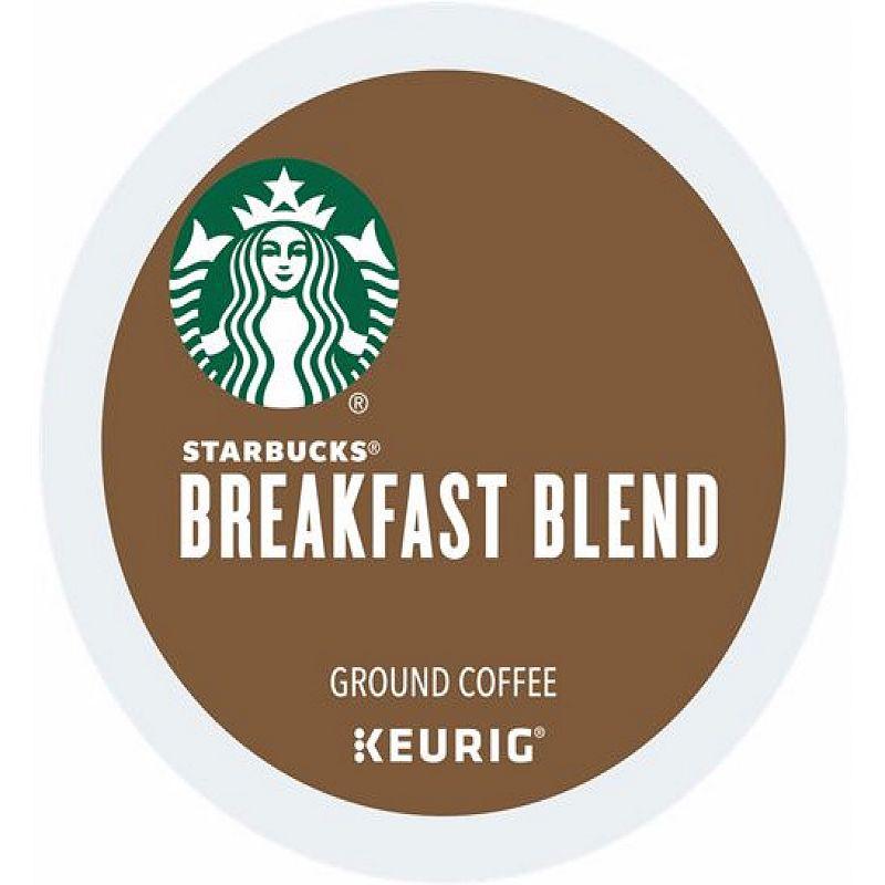 Keurig K-Cup Pod Starbucks Breakfast Blend Coffee - 96-pk.