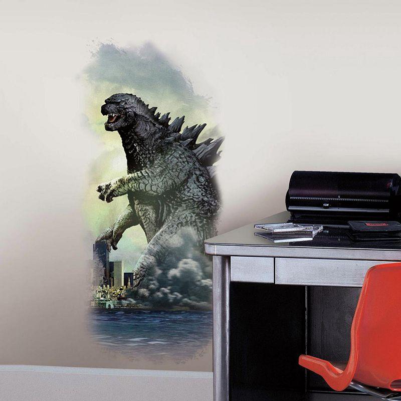 Godzilla City Peel & Stick Wall Decals