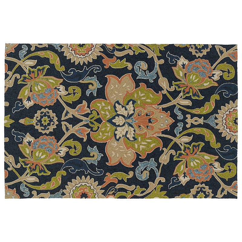 Kaleen Home and Porch Flower Indoor Outdoor Rug