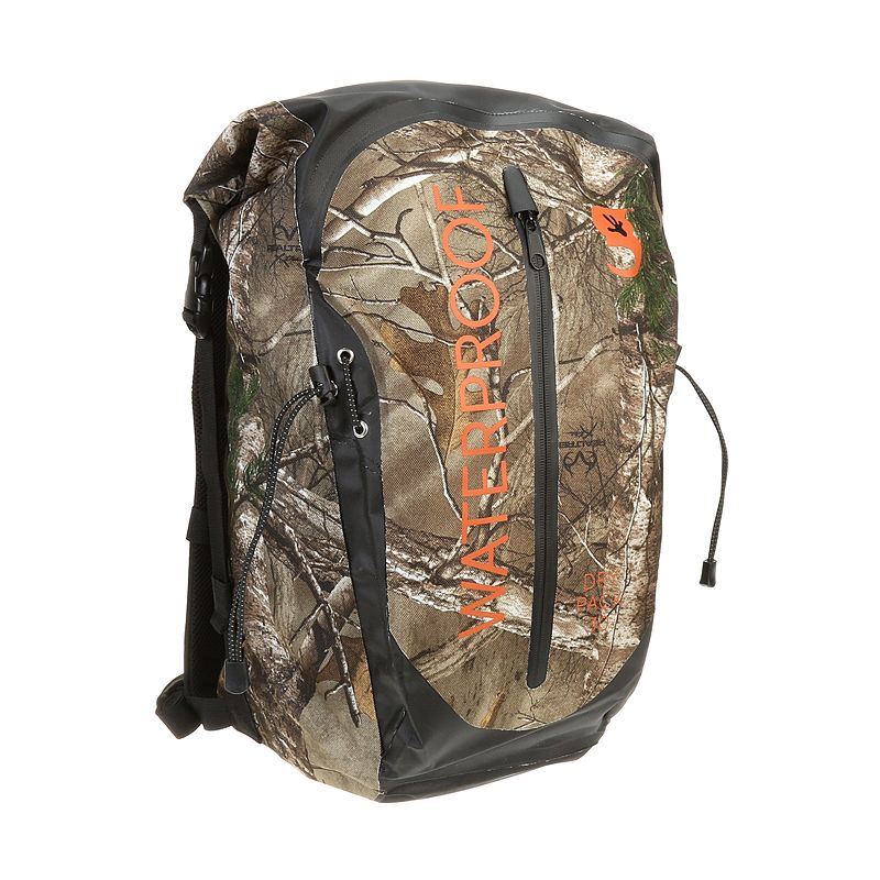 geckobrands Waterproof Realtree Xtra Dry Bag 30-Liter Backpack