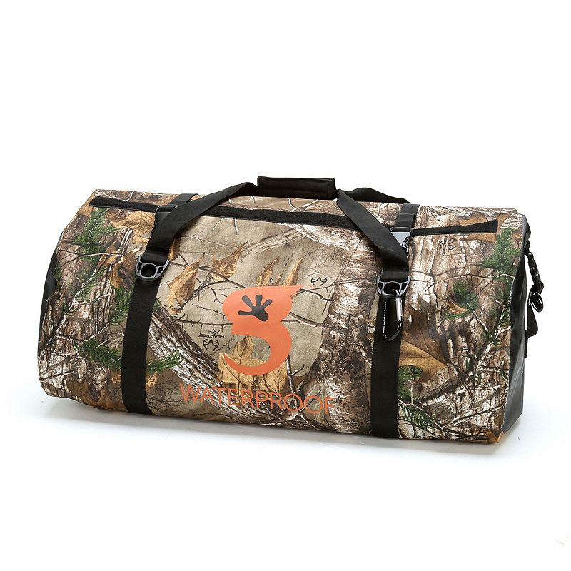 geckobrands Waterproof Realtree Xtra Dry Bag Carry Duffel