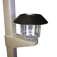Vinyl Works 4-pk. Above Ground Pool Fence Solar Lights