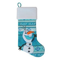 st nicholas square 21 in disneys frozen olaf stocking clearance