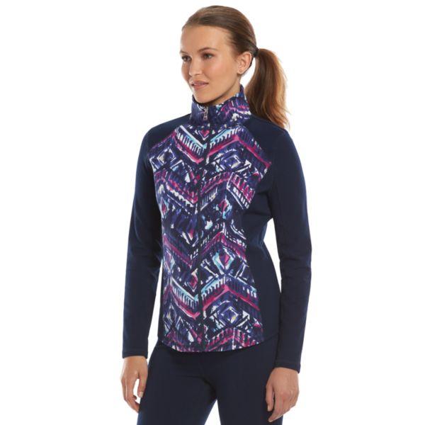 Chaps Brushstroke Jacket - Women's