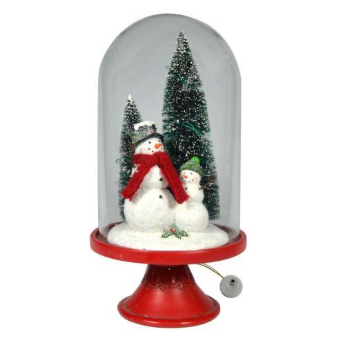 St. Nicholas Square Snowman Cloche Holiday Decor