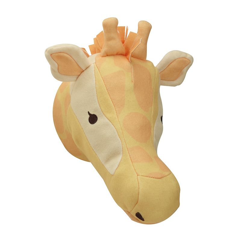 NoJo Zoobilee Plush Giraffe Head Wall Decor
