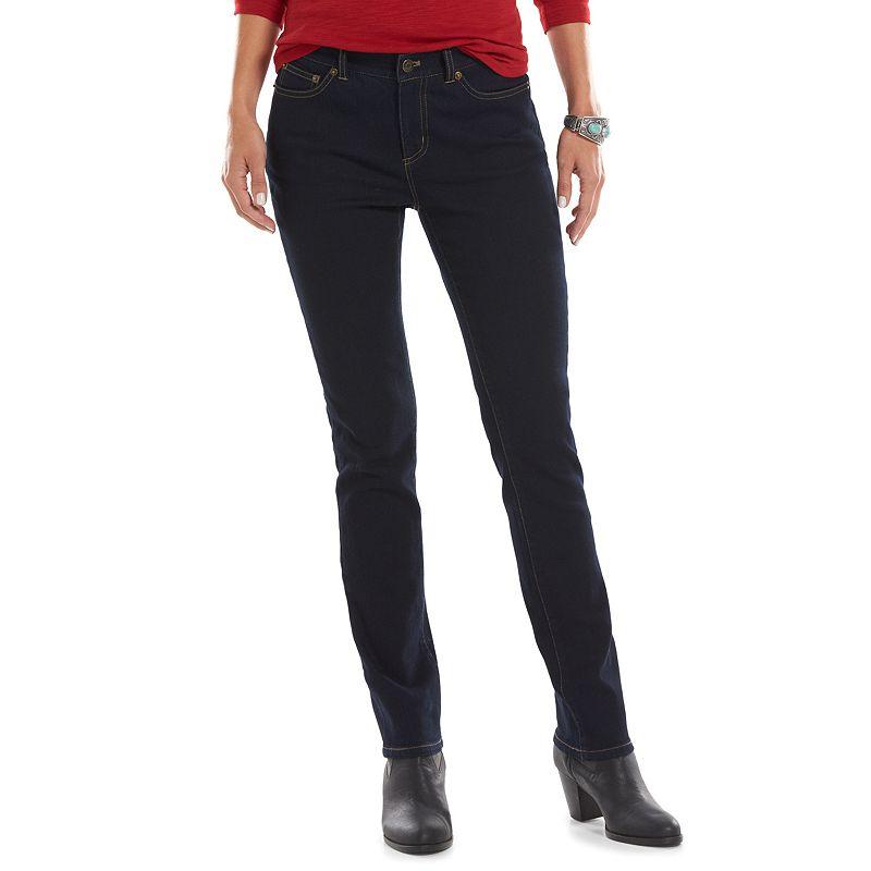 Women's Chaps Curvy Fit Skinny Jeans