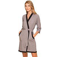 Women's Cuddl Duds Pajamas: Essentials Wrap Robe