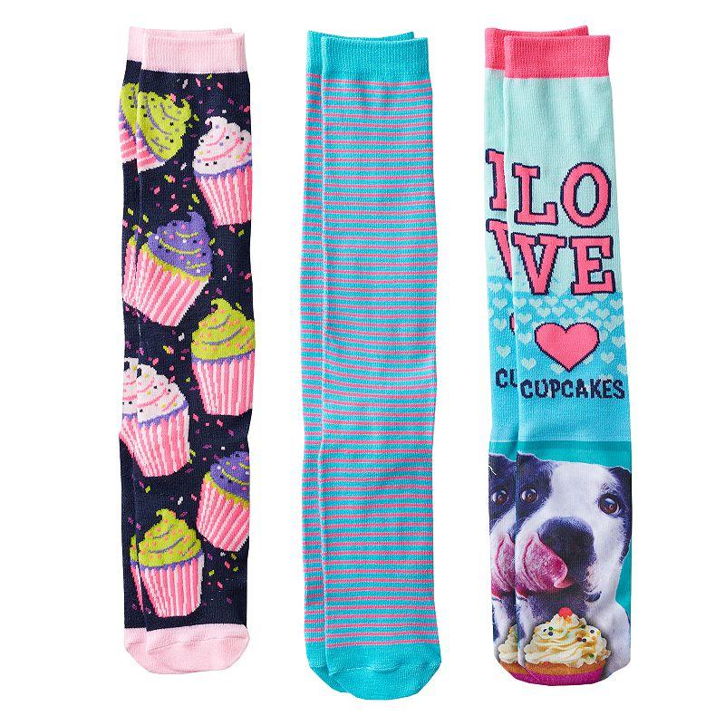 Girls Pink Cookie 3-pk. Dog