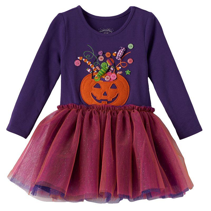 Marmellata Classics Jack-o'-Lantern Tutu Dress - Toddler Girl