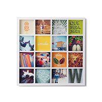 Umbra Gridart 16-Opening 4'' x 4'' Collage Frame