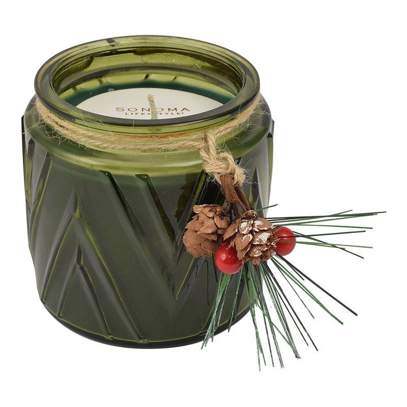 SONOMA Goods for Life™ Balsam Fir 13-oz. Chevron Jar Candle