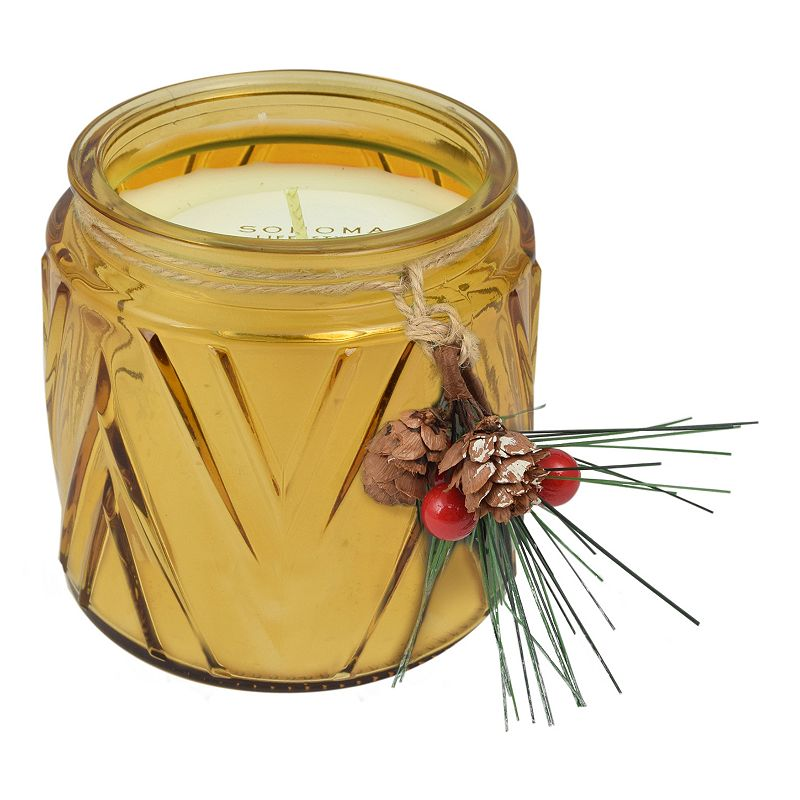 SONOMA Goods for Life™ Balsam & Oak 13-oz. Chevron Jar Candle