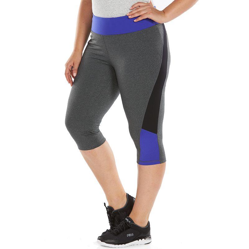 Plus Size Tek Gear® Shapewear Skimmer Capri Workout Leggings