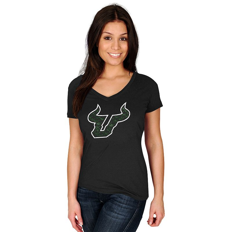 Women's Section 101 by Majestic South Florida Bulls Commanding Lead Tee