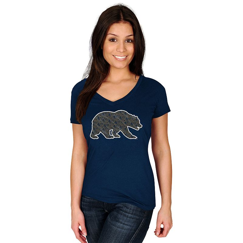 Women's Section 101 by Majestic Cal Golden Bears Commanding Lead Tee