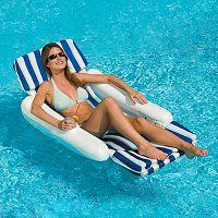 Swimline SunChaser Padded Lounger Pool Float