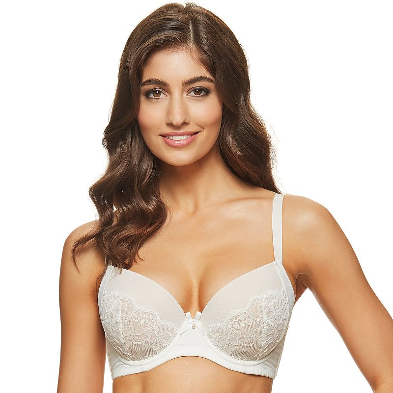 Perfects Australia Bra: Stacy Curve It Up Lace Full-Figure Balconette Bra 14UBR71 - Women's