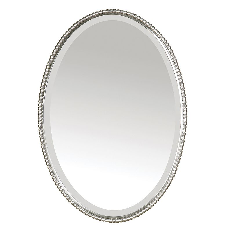 Sherise Oval Beveled Wall Mirror