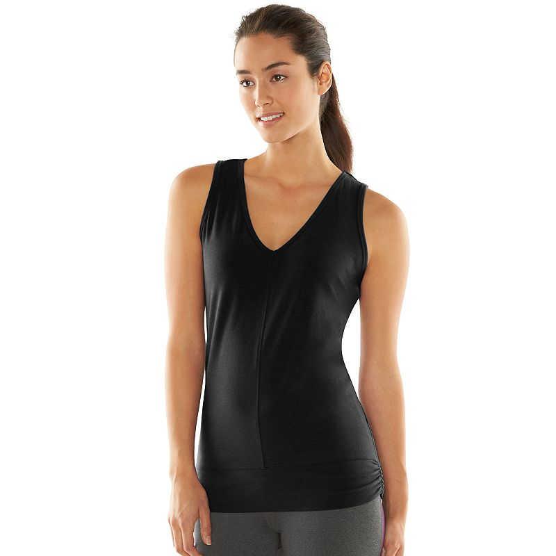 Women's Gaiam Quest Layering V-Neck Yoga Tank