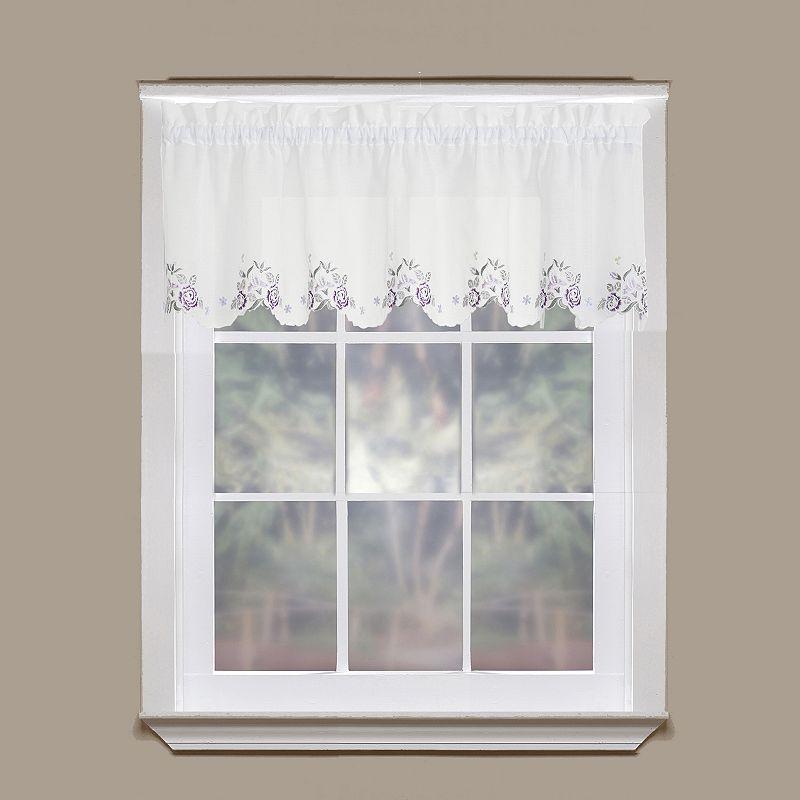 Today's Curtain Isabella Semi-Sheer Straight Valance - 60'' x 14''