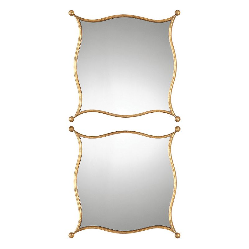 Sibley 2-piece Metal Wall Mirror Set