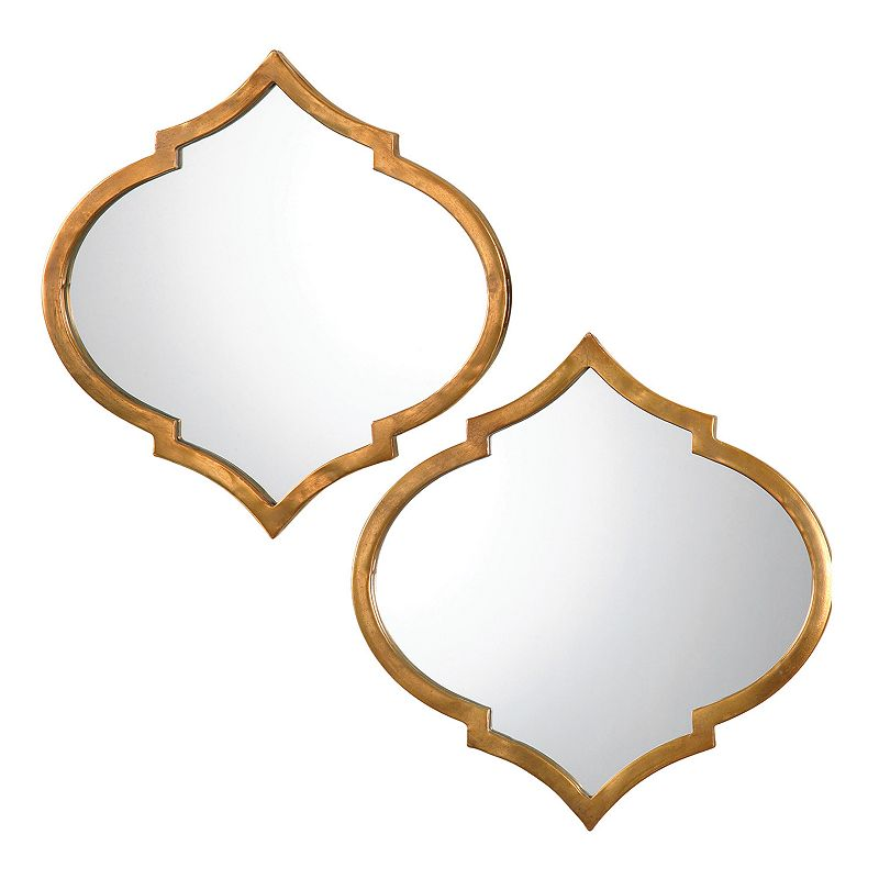 Jebel 2-piece Metal Wall Mirror Set