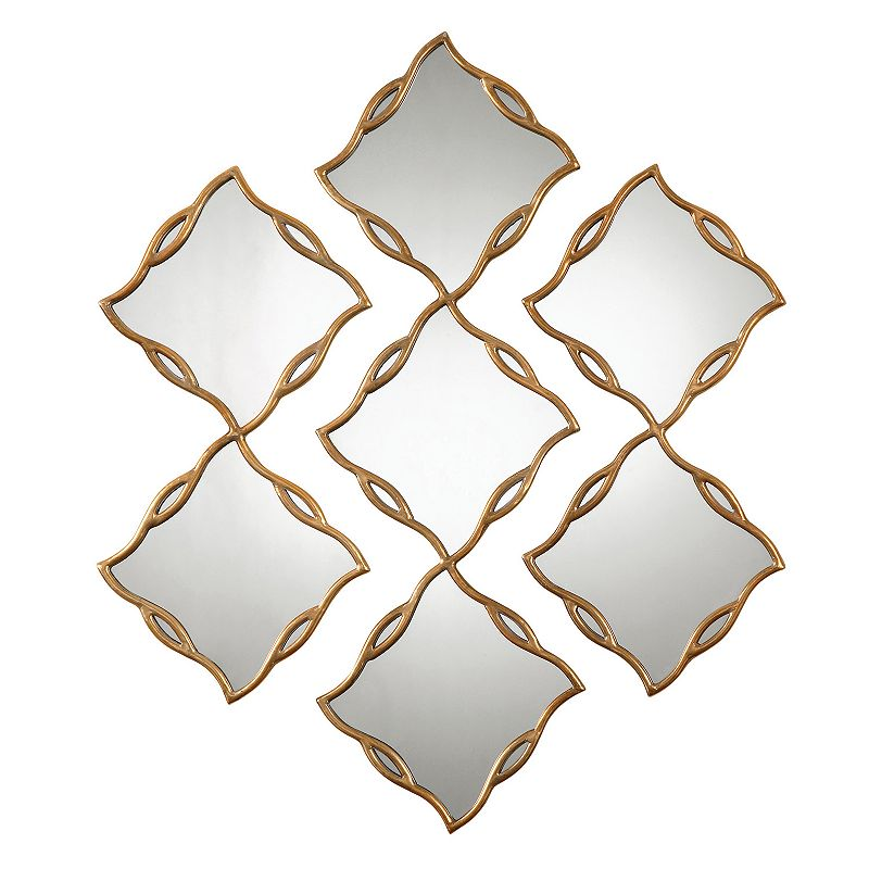 Terlizzi 3-piece Metal Wall Mirror Set