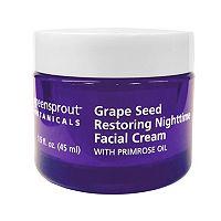 GreenSprout Botanicals Grape Seed Restoring Nighttime Facial Cream