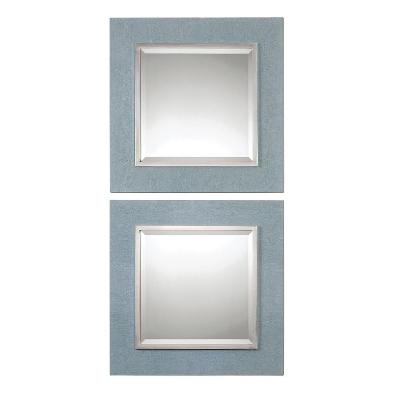Tory Squares 2-piece Wall Mirror Set