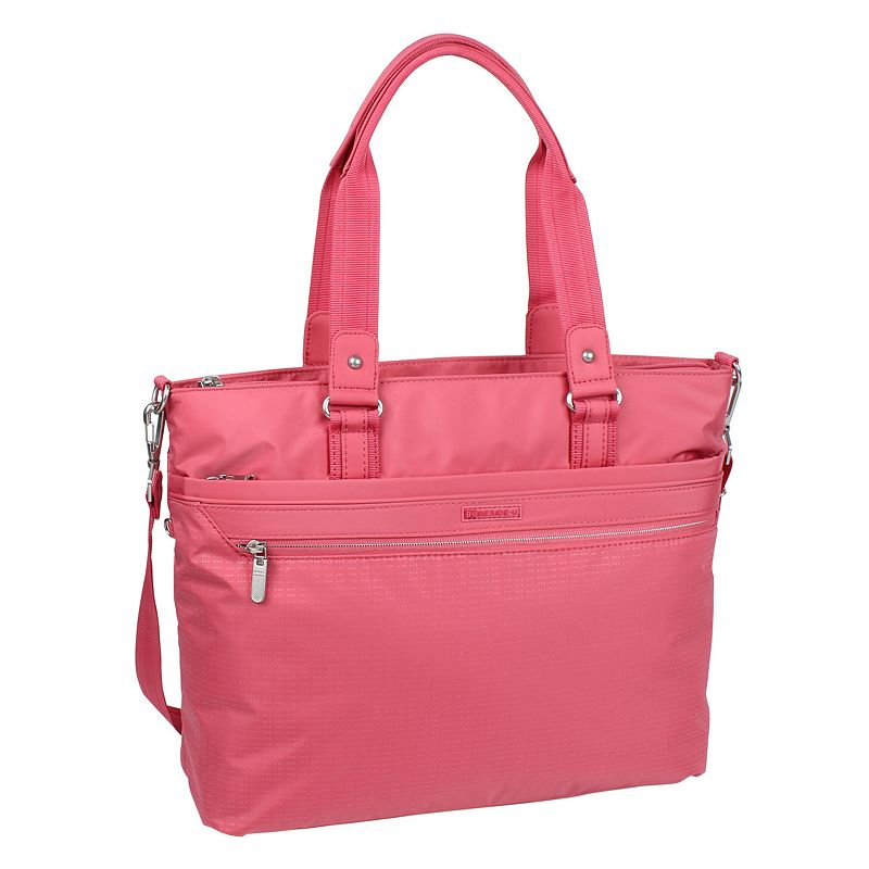 Beside-U Luisa Soft-Touch 17-inch Laptop Tote Bag