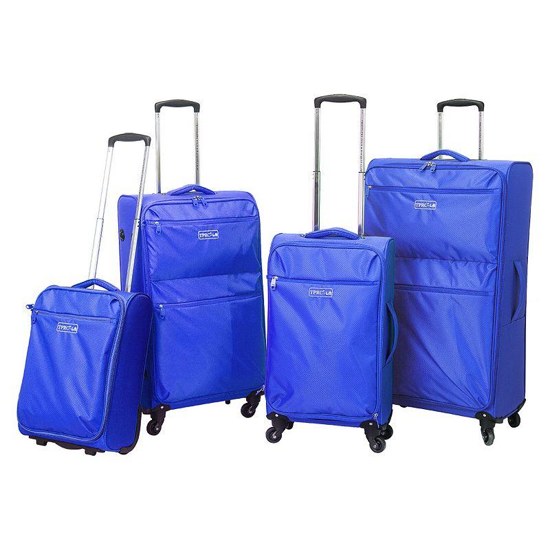 Travelers Club 4-Piece Luggage Set