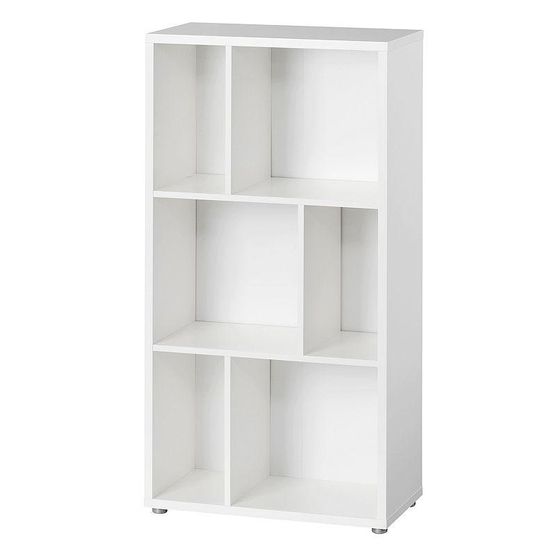 Tvilum Twist Tall 3-Shelf Bookcase