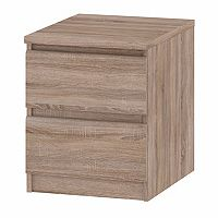 Tvilum Scottsdale 2-Drawer Truffle Nightstand