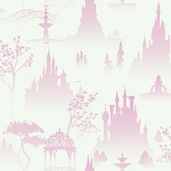 Disney Scenic Tonal Toile Removable Wallpaper by