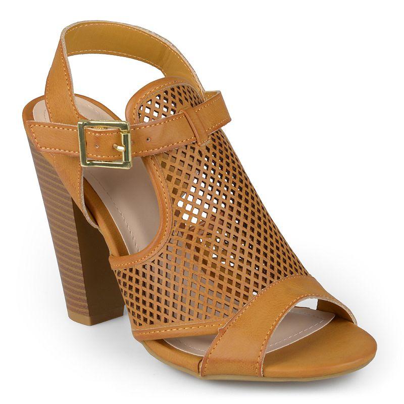 Journee Collection Mash Women's Slingback Heeled Sandals