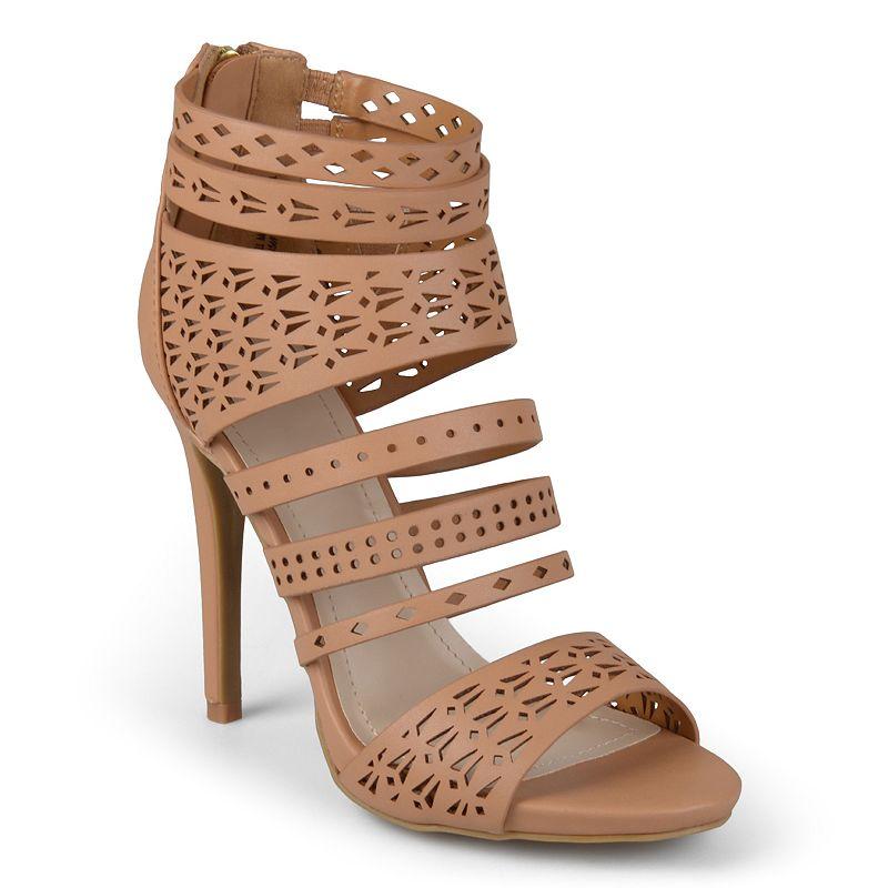 Journee Collection Newbee Women's Cutout Heels