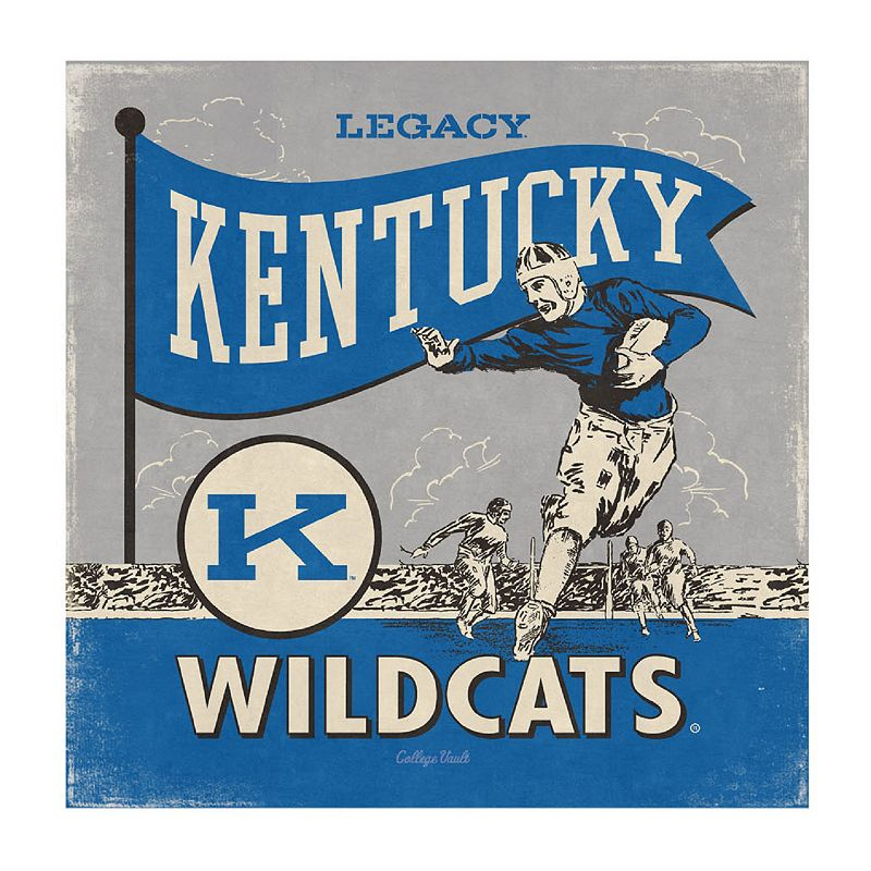 Legacy Athletic Kentucky Wildcats Square Canvas Wall Art