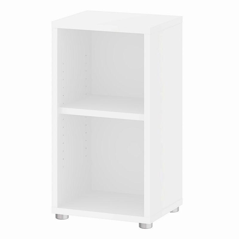 Tvilum Structure 2-Shelf Narrow Bookcase