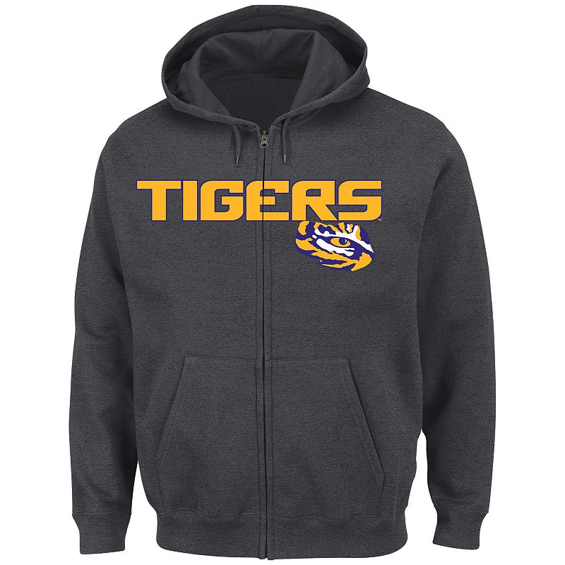 Men's Section 101 by Majestic LSU Tigers Go to Move Hoodie