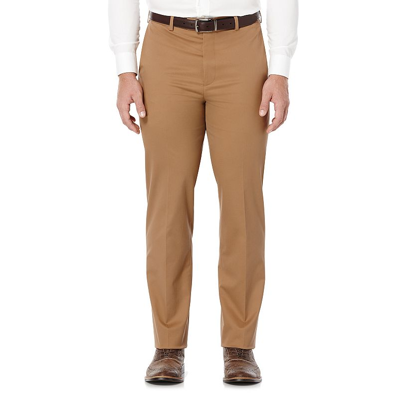 Men's Savane Executive Khaki Straight-Fit Performance Pants